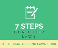 Lawn care can be a daunting task, especially when aiming for that healthy, beautiful green law. Use these 7 tips to remove the mystery!