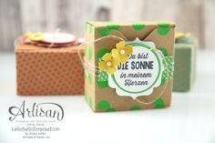 Stampin´ Up! - Artisan Design Team - Envelope Punch Board - Verpackung mit…