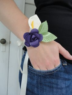 Paper Flower Diy Corsage And Boutonnire Tutorial Craft Ideas