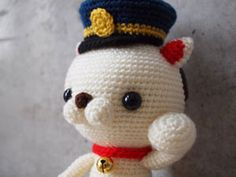 amigurumi.... I think my heart just melted at how cute this is!