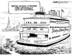 somali piracy cartoon - Google zoeken Cruise Boat, Somali, Cartoons, Floor Plans, Humor, Places, Travel, Google, Cartoon