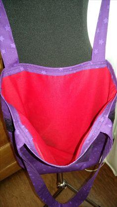 JEDE meiner Taschen hat die rote Innentasche!  Nur damit ist es ein Blitzergeblinkel Original!