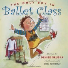 A good book for little boy ballet dancers.