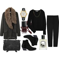 Winter outfit #1, created by deadfleurette on Polyvore
