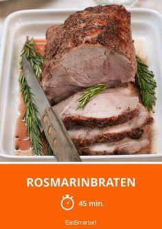 Rosmarinbraten - smarter - Zeit: 45 Min.   eatsmarter.de