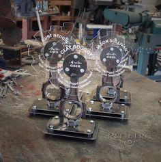 Custom Steel Trophies