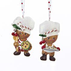 """4""""GINGERBREAD BOY MIXING+W/SHEET ORNAMENTS #gingerbreadornaments"""
