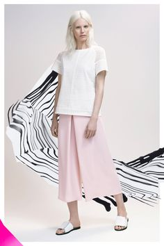 Pastel wide leg pants: Veronika Maine via Ethical Clothing Australia