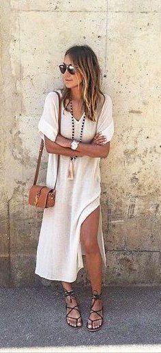 summer outfits boho dress