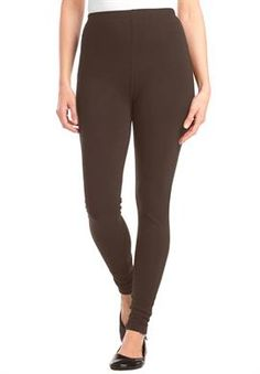 These plus size leggings give you the same comfortable fit and ...