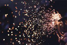 Fondo de Pantalla de Chispas, Luces, Fuego, Explosión, Destellos