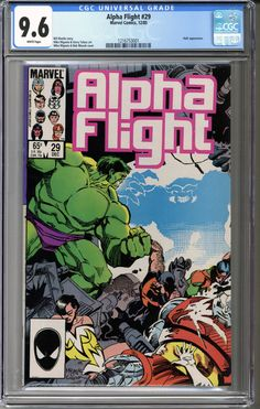 Now available: Alpha Flight #29 ... #comics    http://coloradocomics.com/products/alpha-flight-29-cgc-9-6?utm_campaign=social_autopilot&utm_source=pin&utm_medium=pin