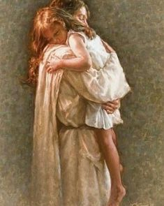 In His Arms Jesus Christ. Jesus Loves you. Children and Jesus. Psalm 17, Braut Christi, Image Jesus, Pictures Of Jesus Christ, Pictures Of God, Lds Art, Prophetic Art, Daughters Of The King, Daughter Of God