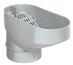 Water butt downpipe leaf catcher passive self cleaning filter - leaf separator