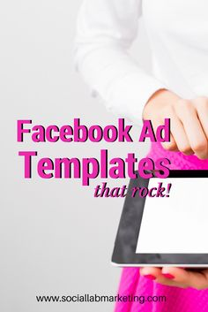 Facebook Ads templates that rock #facebook