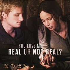 You love me. Real or not real?
