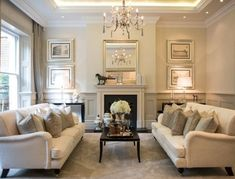 30 DIFFERENT TYPE OF DRAWING ROOM IDEAS – Stylish Bunny French Living Rooms, Beige Living Rooms, Glam Living Room, Classic Living Room, Formal Living Rooms, Home And Living, Living Room Decor, Living Area, Living Spaces
