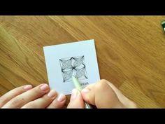 Zentangle® Muster: Gotcha - YouTube | Published on May 4, 2016 | So zeichne und schattiere ich das Zentangle® Muster Gotcha von Karin Godyns. Weitere Muster gibt es auf http://bunte-galerie.de/zentangle-mus... und natürlich in meinem Kanal.