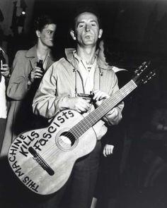 "Woody Guthrie: ""This Machine Kills Fascists"""
