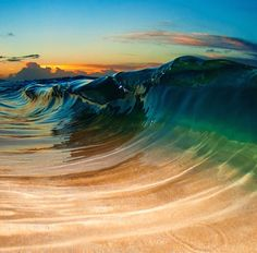 The Beauty of The Waves In The Hands of a Photographer - Amazing Stories Waves Photography, Landscape Photography, Aesthetic Photography Nature, Nature Photography, Clark Little Photography, Sea Photo, Sunset Colors, Surf Art, Sea And Ocean