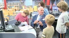 Elementary Students Create World War II Documentaries For Veterans.If video doesn't work - http://www.navy.mil/viewVideo.asp?id=18431