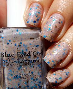 Blue-Eyed Girl Lacquer: Siren Seashore (Siren Series) #blueeyedgirllacquer #begl #beglove #swatch #indiepolish #beglsiren