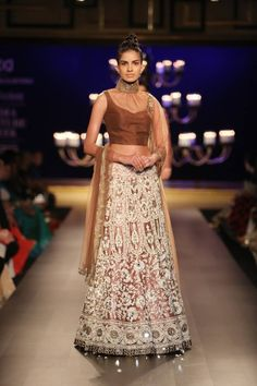 Titled 'Portraits', Manish Malhotra's creation had that old world charm to it which made the collection looks all the more spectacular.