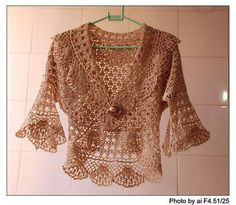 lace bolero, free crochet patterns