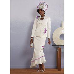 Suri Skirt Suit from ASHRO | P226175