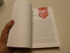 Make it easy crafts: How to make a magnetic Valentine's Day Heart bookmark