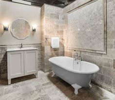 Claros Silver Travertine is the perfect greige tile for your next tile project.