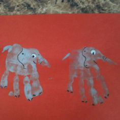 Elephant handprint - let 'em do the art then write a story about it! School Projects, Projects For Kids, Art Projects, Cute Kids Crafts, Toddler Crafts, Kid Art, Art For Kids, Circus Crafts, Footprint Crafts