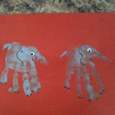 Elephant handprint