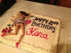 omg this is too funny! perfect for a 21st bday cake