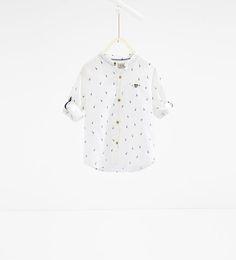 ZARA - KINDEREN - Overhemd met giraffen