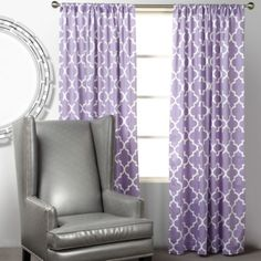 Mimosa Panels - Orchid from Z Gallerie