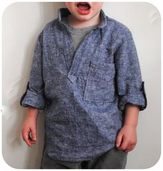 Boy, Oh Boy, Oh Boy!: Blank Slate Basics: Prepster Pullover