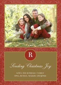 Mixbook Traditional Holiday Holiday Photo Cards