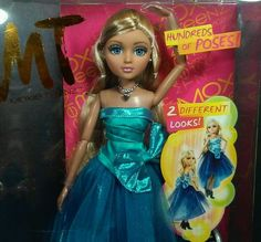 Moxie Teenz Melrose Doll Rooted Hair Lashes Jointed Articulated Factory Sealed #MoxieTeenz #DollswithClothingAccessories