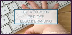 25% off - one week only #logo #branding #businessimage