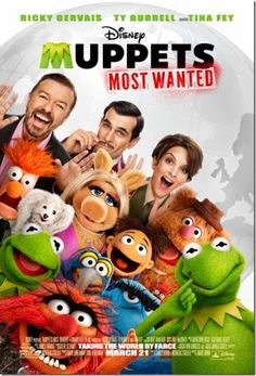 Disney's Muppets Most Wanted Movie Poster