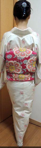 kimono and pretty obi