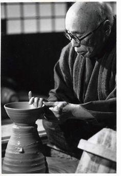 National Living Treasure of Japan as a potter, HAMADA Shoji (1894-1978)