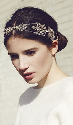 Art Deco Headband @jenniferbehr1