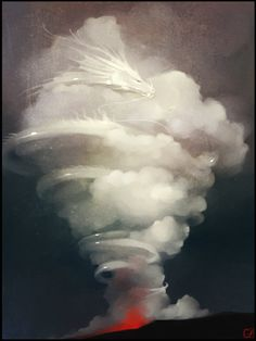 Thyacus - Deus Dragão Oriental, das Nuvens