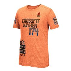 Reebok CrossFit 2015 Games Authentic Rich Froning Tee - Electric Peach | Reebok US