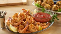 Spiced Shrimp Cocktail is a classic appetizer and is so easy to do with OLD BAY Seasoning and McCormick Cocktail Sauce for Seafood. Crab Dip Recipes, Shrimp Recipes, Pasta Recipes, Beef Recipes, Chicken Recipes, Dinner Recipes, Shrimp Dishes, Sauce Recipes, Sweet Corn Fritters