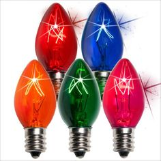 christmas light bulbs for sale
