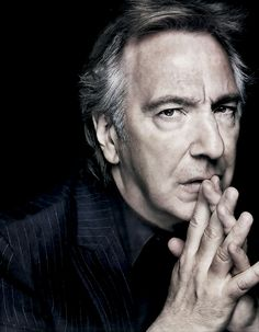 Alan Rickman. Character. Deep soul. This image shows that, I think.