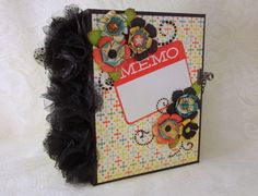 MEMO premade mini scrapbook envelope by CollectionOfMoments
